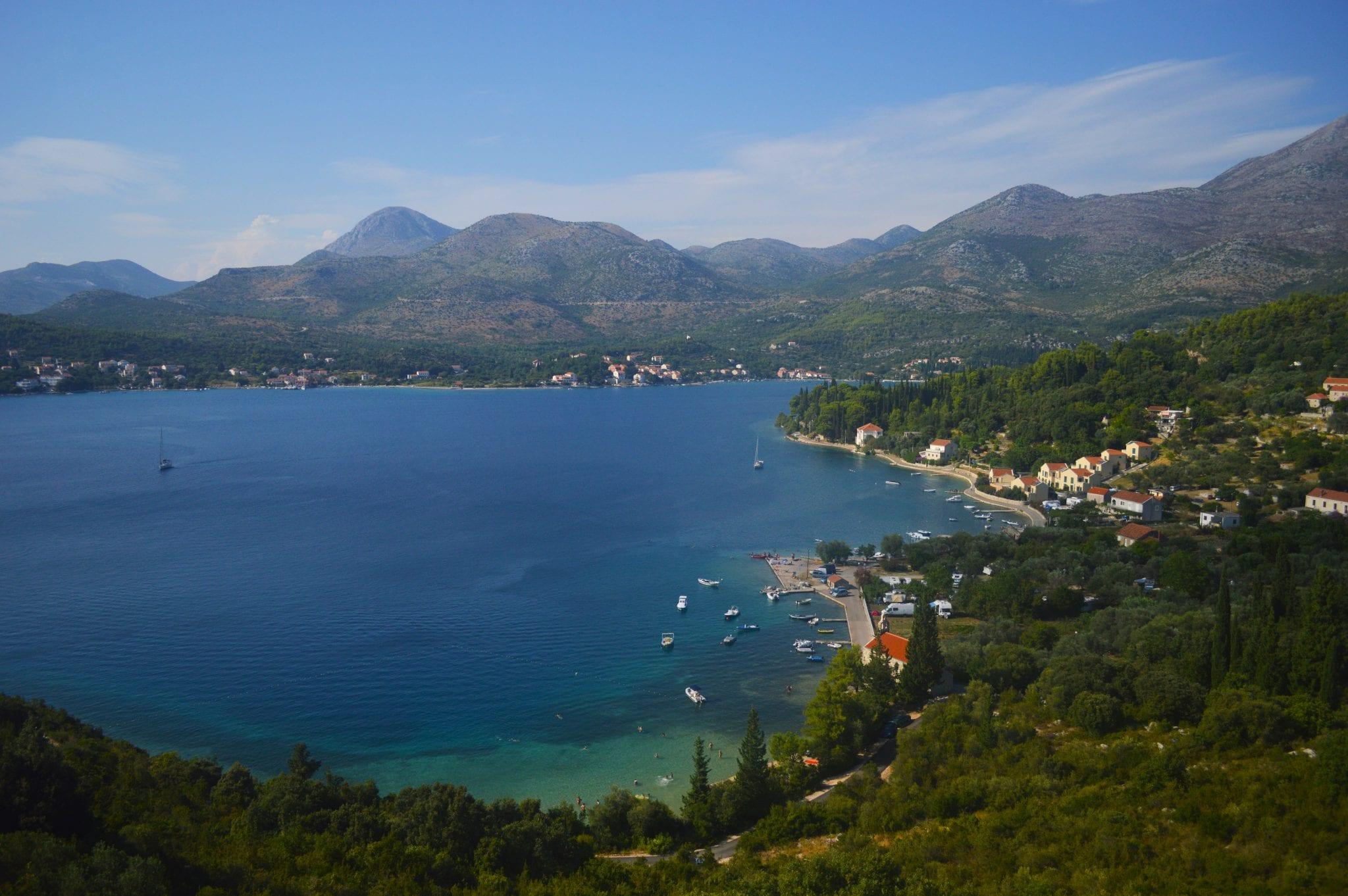 Reisroute door Kroatië in 2 weken
