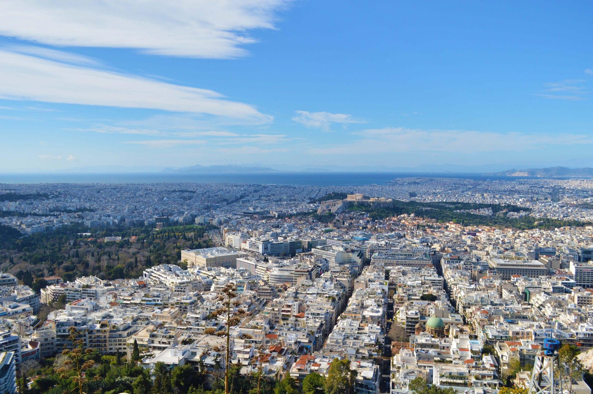 De 5 beste uitzichtpunten in Athene