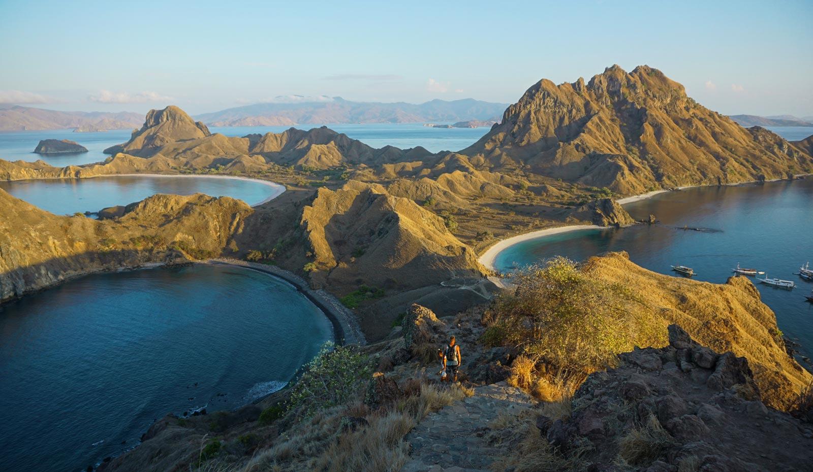 Komodo National Park: Boottrip van Flores tot Lombok