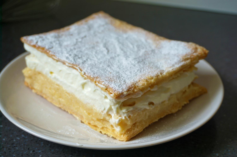 Kremšnita – Sloveens Custard Gebak Recept