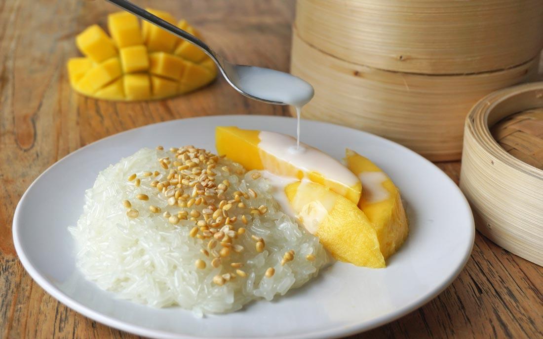 Mango Sticky Rice – Thais Recept