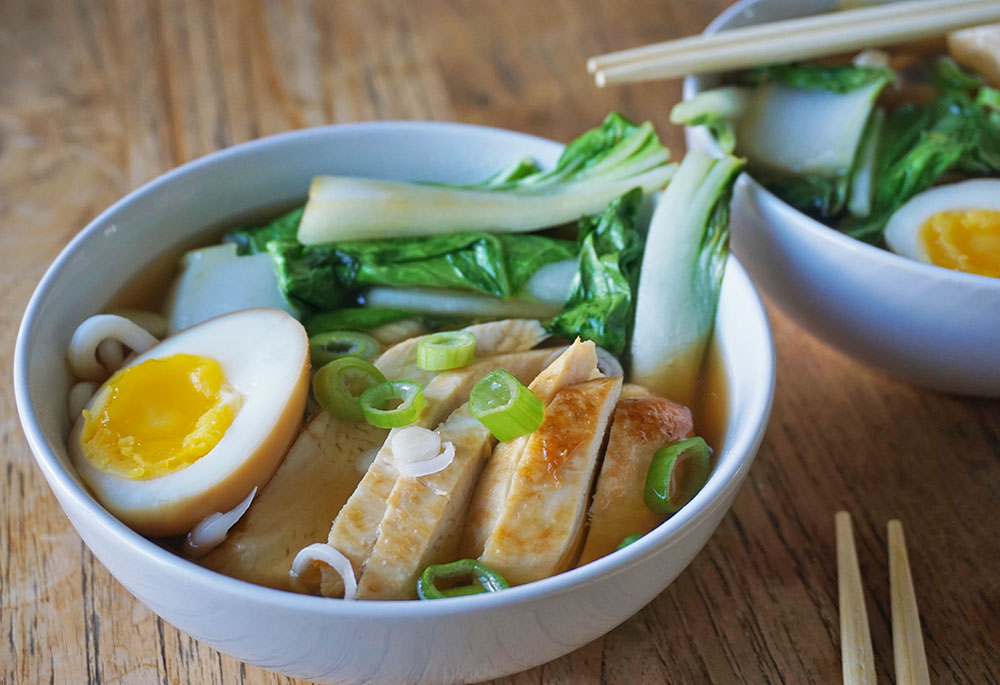 Ramen Recept – Snelle Japanse noedelsoep met kip
